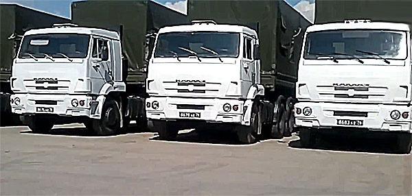 Все грузовики российской гуманитарной колоны благополучно вернулсь в Россию. 296176.jpeg