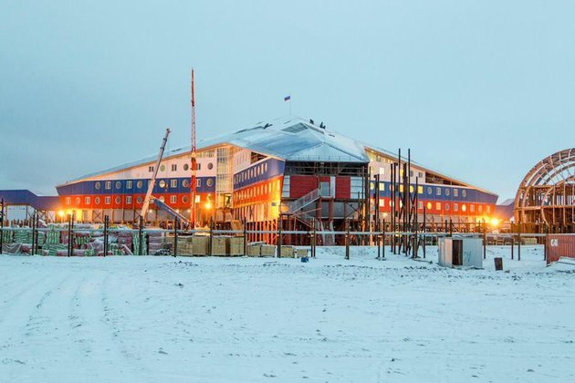 Завершено строительство всех военных объектов в Арктике. Завершено строительство всех военных объектов в Арктике