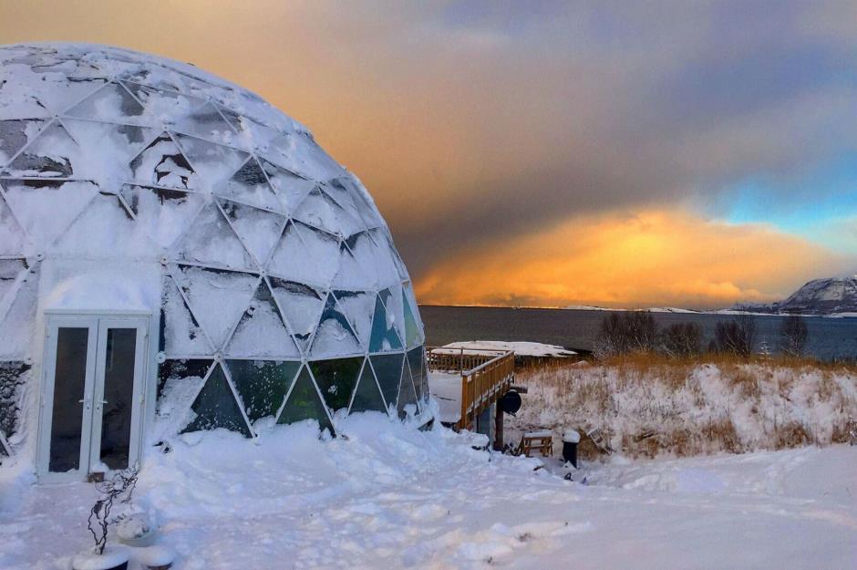 Дом под стеклянным куполом, или осуществленные мечты одного норвежца. 404176.jpeg