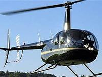 В США разбился вертолет, упав на шоссе