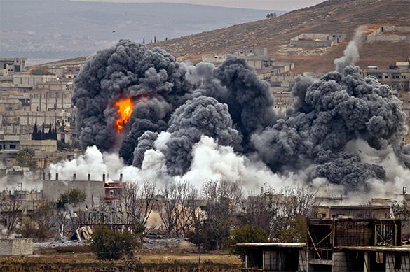 Свидетели проинформировали обавиаударе посирийскому городу, подвергшемуся химатаке