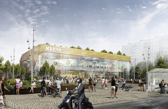Уникальный летний сад появится на крыше кинотеатра