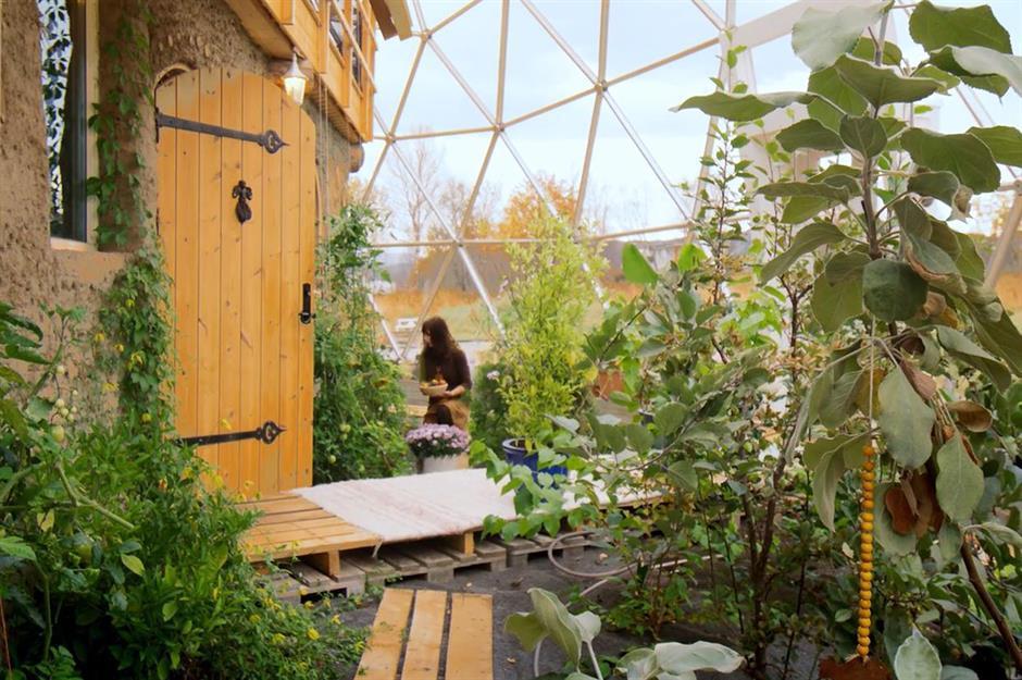 Дом под стеклянным куполом, или осуществленные мечты одного норвежца. 404178.jpeg