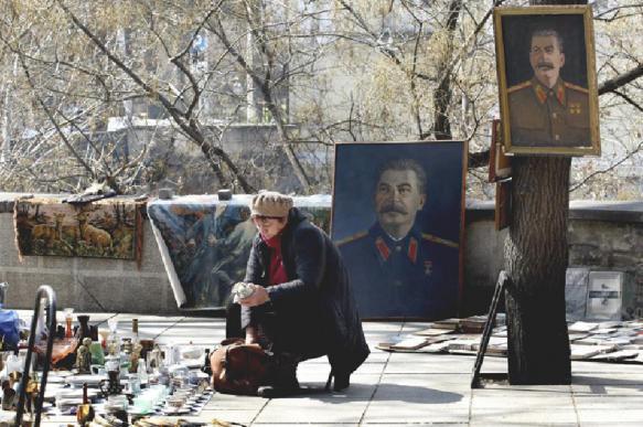 Сталина уважают как отца на нынешнем
