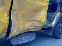 В Петербурге перевернулась маршрутка, пострадала пассажирка
