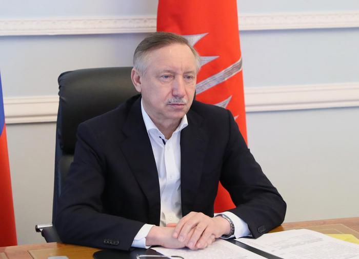 Александр Беглов, губернатор Петербурга