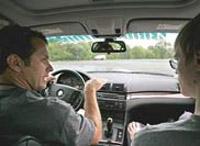 Экзамен на водительские права будут принимать под электронным