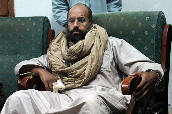 Сын и духовный наследник Муаммара Каддафи Саиф аль-Ислам Каддафи