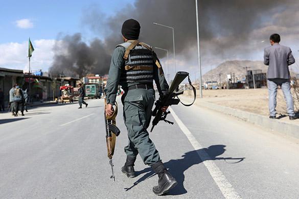 Американские военные стажи жертвами нападения в Афганистане