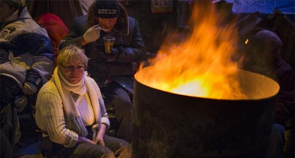 Минфин Украины: Мы достигли дна. украина майдан бедность