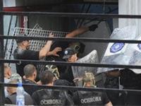 Варшавские торговцы забросали полицию камнями