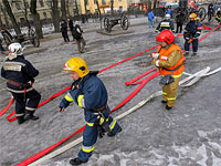 Пожар на ереванском химзаводе локализован