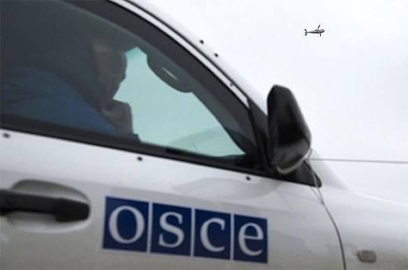 ОБСЕ: из зоны конфликта в Луганске тяжелое вооружение так и не выведено. авто ОБСЕ