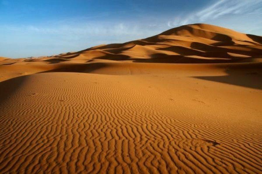 Почему Сахара превратилась в пустыню?