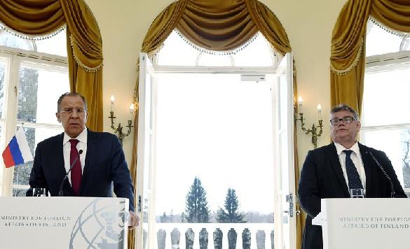 Министр иностранных дел Финляндии считает переговоры сЛавровым конструктивными