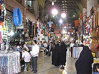 В центре иранской столицы загорелся базар