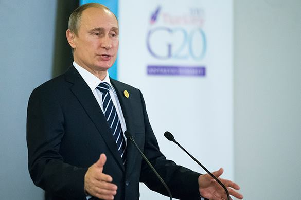 Владимир Путин, саммит G20