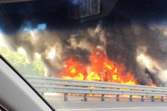 В крупном ДТП в Воронежской области столкнулись десятки автомобилей. 375189.jpeg