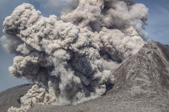 Вулкан Попокатепетль перекрыл воздушное пространство Мексики. Вулкан Попокатепетль