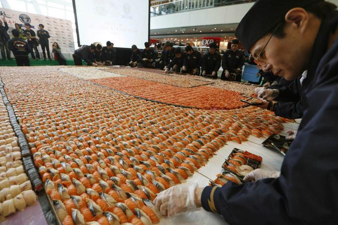 Россияне разлюбили суши - Федерация рестораторов