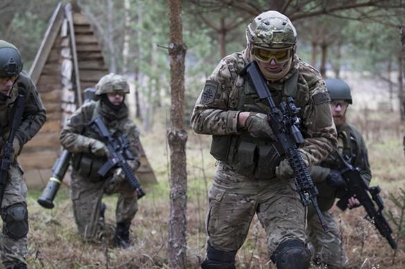 НАТО с государством Украина  дали жесткий военный ответ на«Запад-2017»