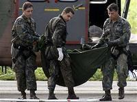 На месте падения французского лайнера найдены останки людей