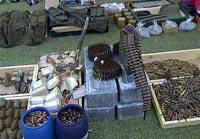В Грозном в лесопарке нашли килограммы взрывчатки