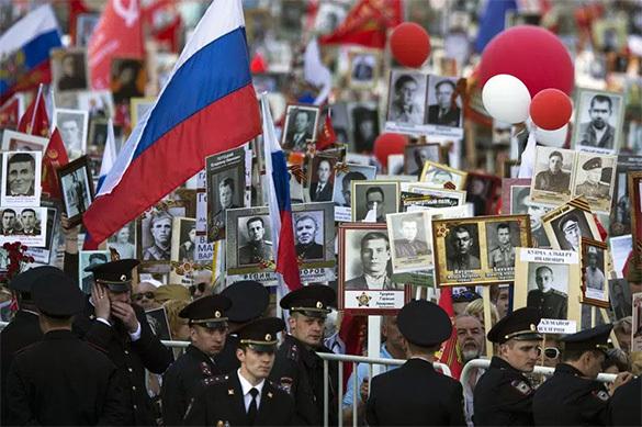 Путин рассказал об отношении к Бессмертному полку1