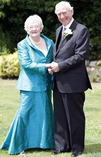 Свадьба с отсрочкой в 65 лет