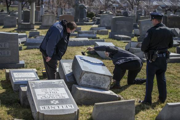 Еврейское кладбище в Филадельфии