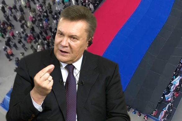 Януковича не хотят пускать в ДНР