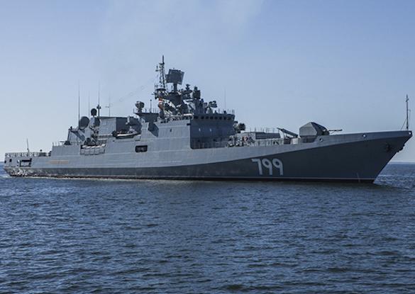"""Новейший фрегат """"Адмирал Макаров"""" будет впервые показан на морском параде в Санкт-Петербурге. 372201.jpeg"""