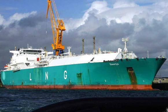 В США прибыл танкер с российским газом. В США прибыл танкер с российским газом