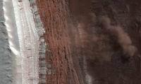 На Марсе впервые сфотографировали движение