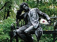 Осенью в Риге появится памятник Пушкину