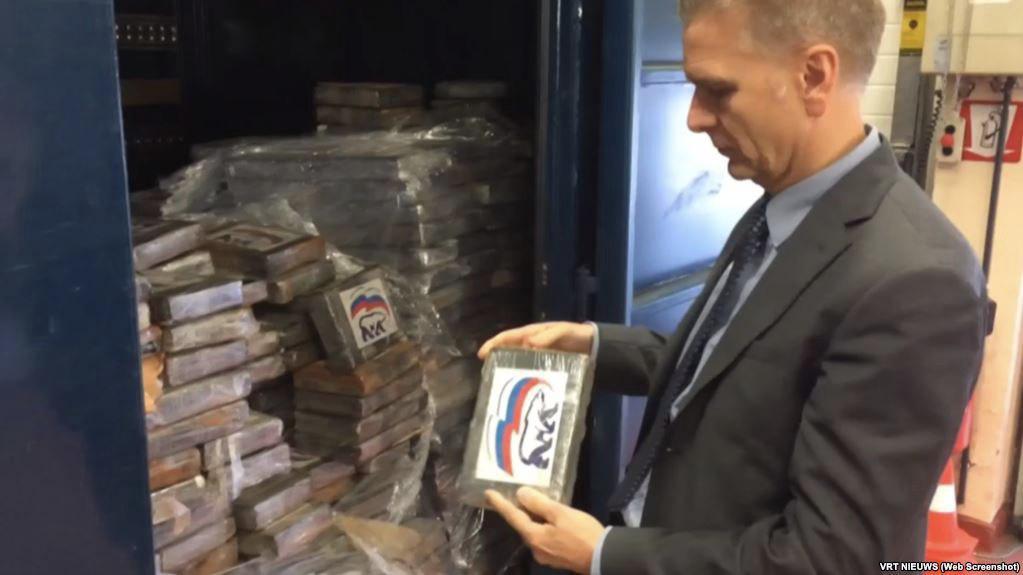 СМИ: в Европе нашли 2 тонны кокаина с логотипом