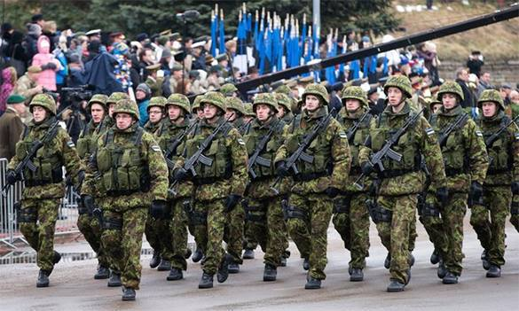"""Демонстрация силы"": марш войск НАТО по Европе. Войска НАТО"