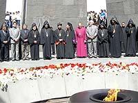 Армяне всего мира чтят память жертв турецкого геноцида
