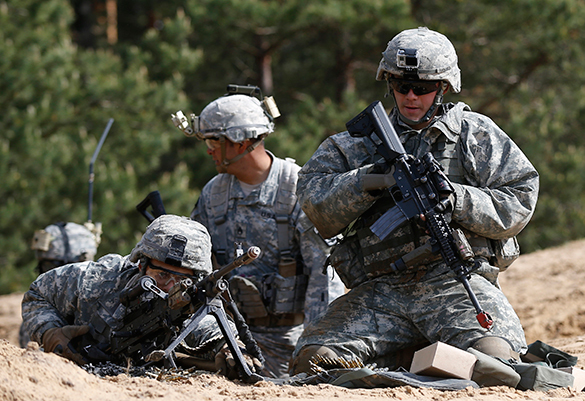 the discrimination in military training
