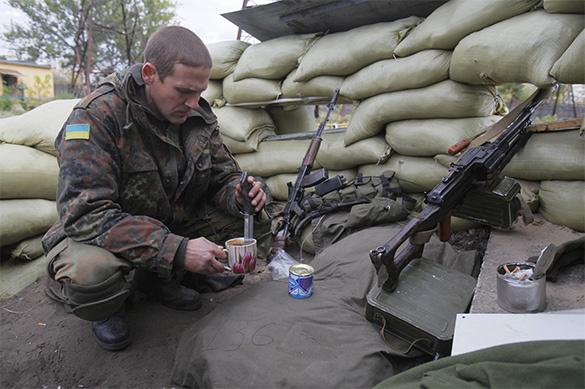 Россия, Франция и ФРГ призвали Украину отвести войска от Донбасс