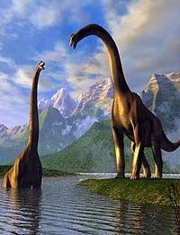 Через 100 миллионов лет динозавров посадили на диету