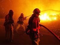 В Калифорнии из-за лесных пожаров идет эвакуация