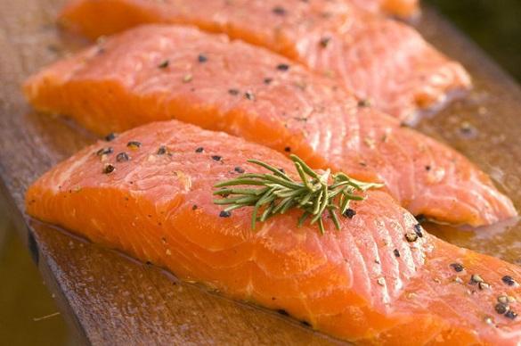 Красная цена лососю - 100 рублей