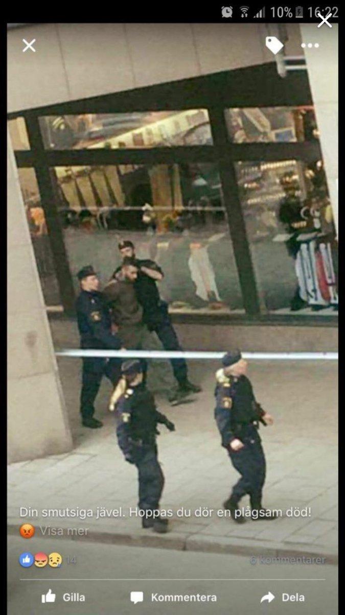СМИ сообщили о задержании водителя грузовика-убийцы в Стокгольме