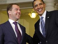 Обама не согласен с Медведевым по поводу границ Грузии