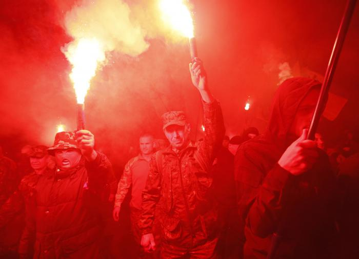 Националисты на Украине