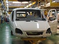 Производство легковых автомобилей в РФ упало на 60 процентов