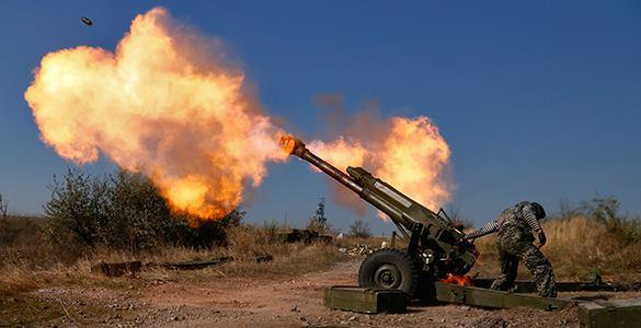 Украина готовит советские пушки для новой атаки Донбасса. пушки