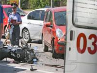 Мотоциклист погиб в ДТП на севере Москвы