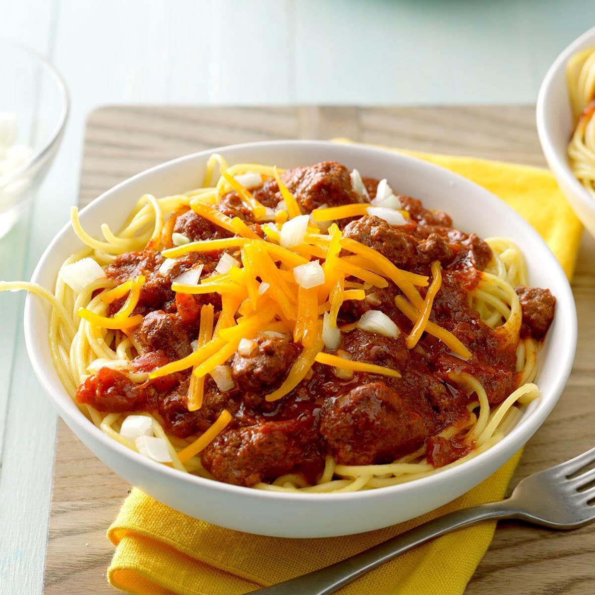 Семь блюд американской кухни, без которых Америка не была бы Америкой. Рутин-Тутин Цинциннати чили